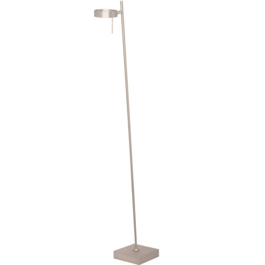 Dimbare 1-lichts vloerlamp Bling met geïntegreerde LED - staal