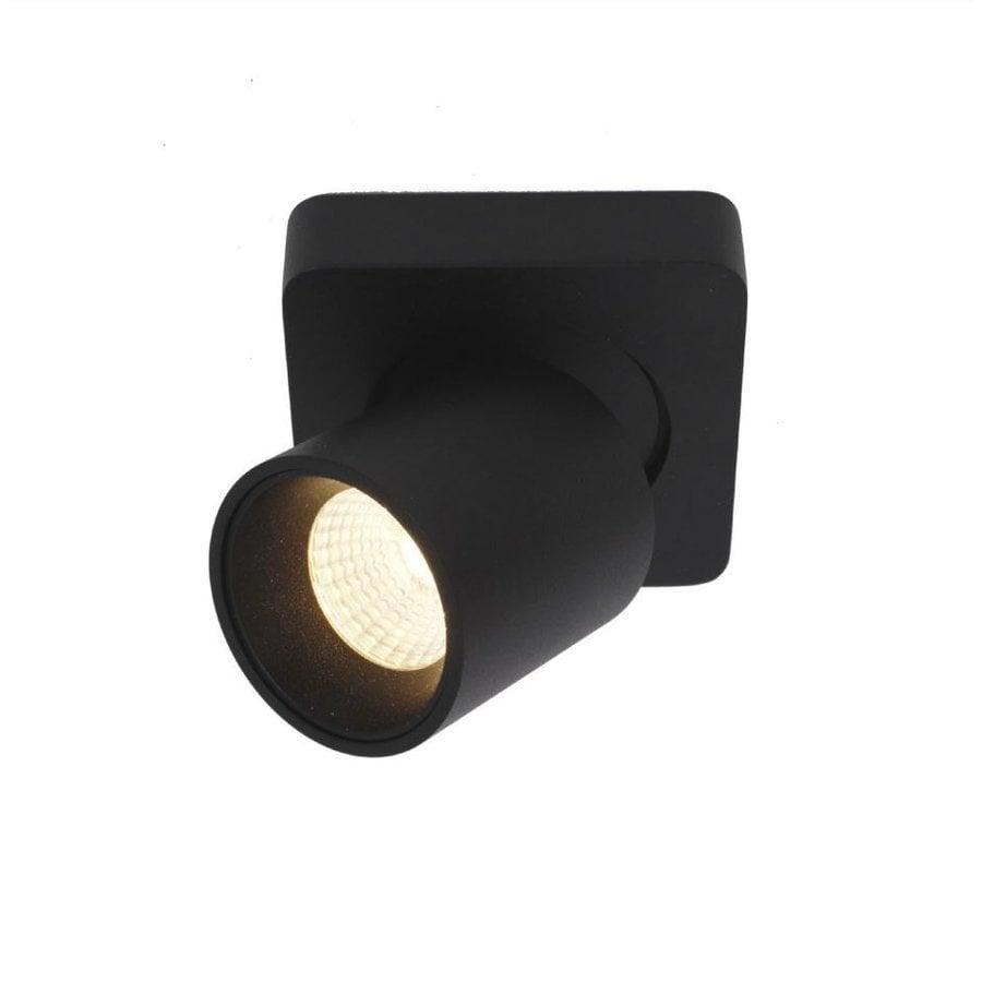 Kantelbare, draaibare en dimbare 1-lichts plafondlamp Laguna met geïntegreerde LED