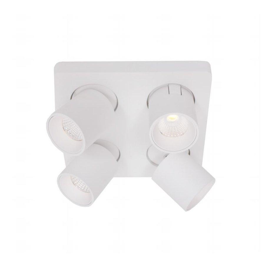 Dimbare 4-lichts Plafondlamp Laguna LED