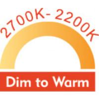 LED GU10 9W Dim to Warm