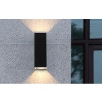 Dimbare In-outdoor Wandlamp Vegas LED - L 5 cm x B 5 cm x H 15 cm (inclusief driver)