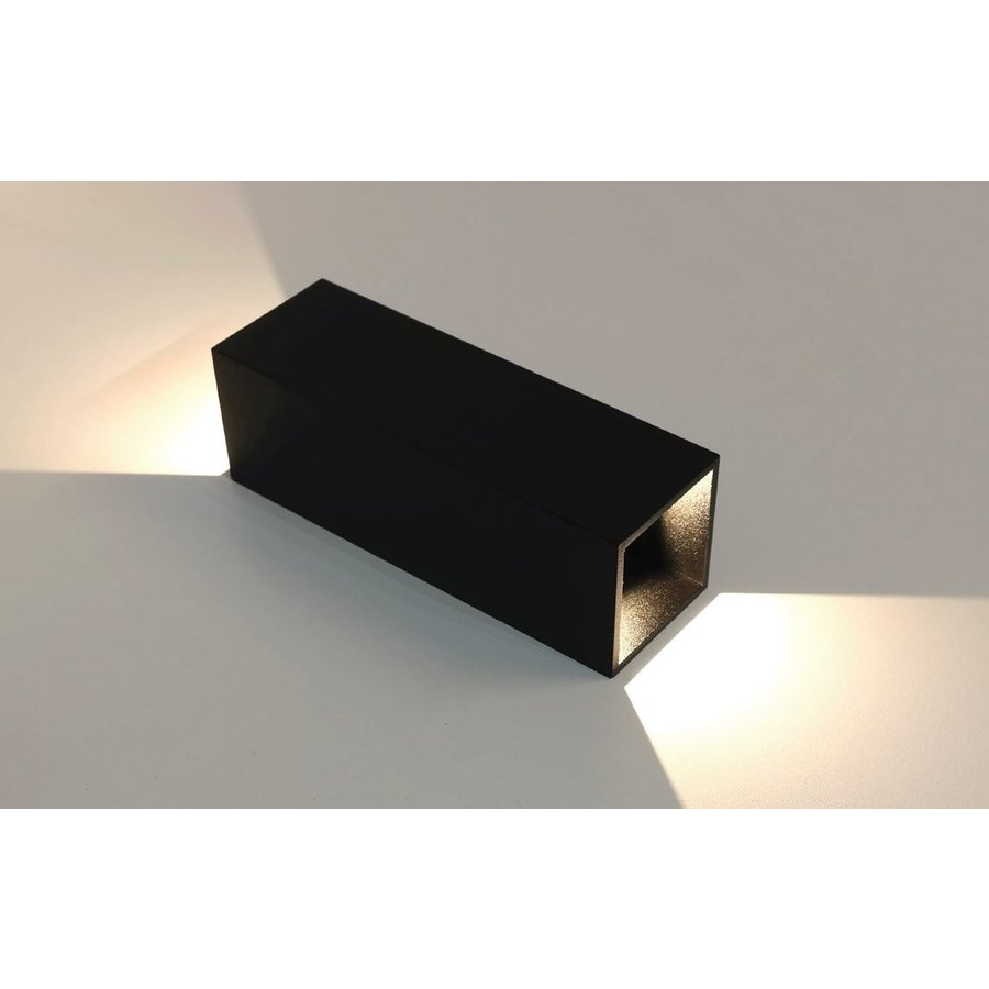 Dimbare In-outdoor Wandlamp Vegas LED - L 8 cm x B 8 cm x H 25 cm (inclusief driver)