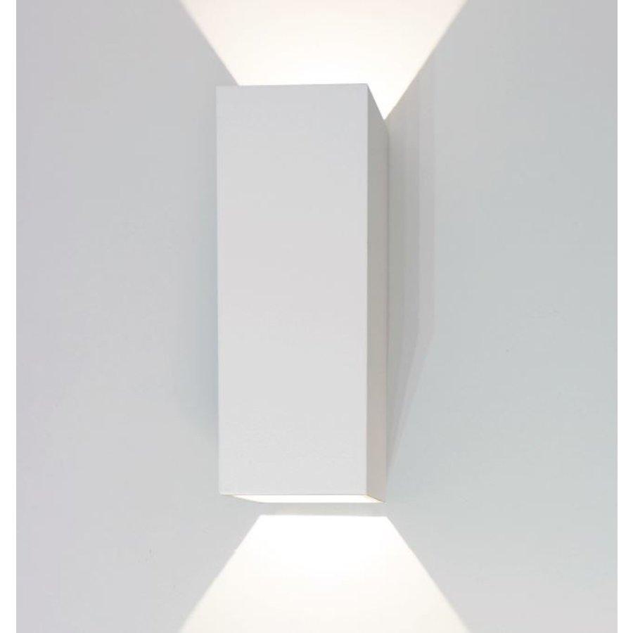 Dimbare in-outdoor wandlamp Vegas met geïntegreerde LED - H 25 cm