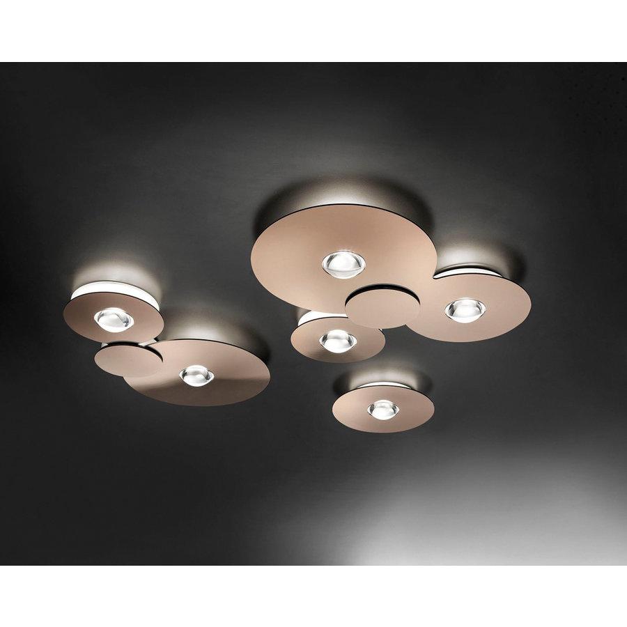 Dimbare plafondlamp Bugia Double met geïntegreerd LED