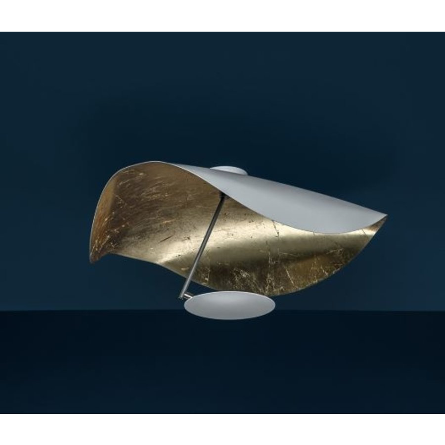 Dimbare wand-plafondlamp Lederam Manta CWS1 met geïntegreerde LED