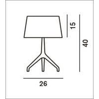 Dimbare tafellamp Lumiere XXS