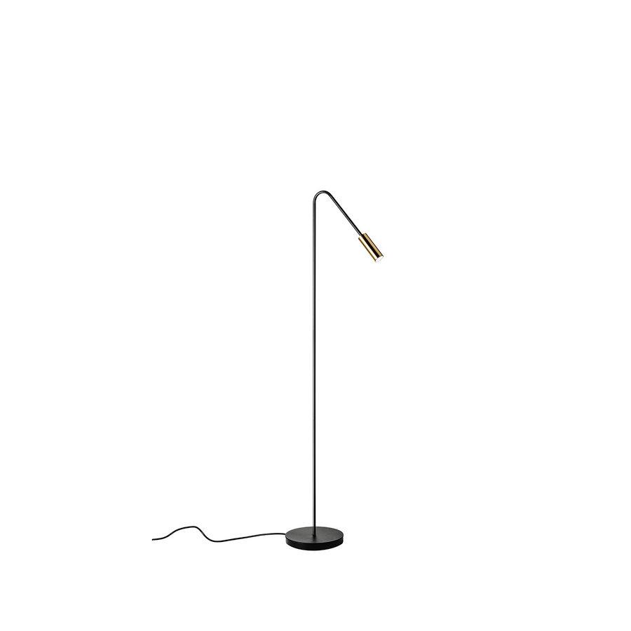 Dimbare Vloerlamp Volta met geïntegreerde LED - 2700 K (extra warm wit licht)