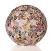 VillaFlor Tafellamp Glass Multi Color Bol Ø 30 cm