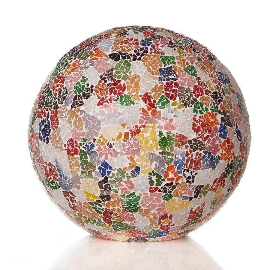 Tafellamp Glass Multi Color Bol Ø 30 cm
