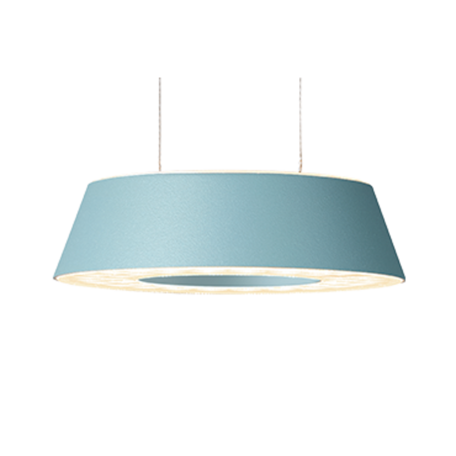 Dimbare 3-lichts Hanglamp Glance met geïntegreerde LED