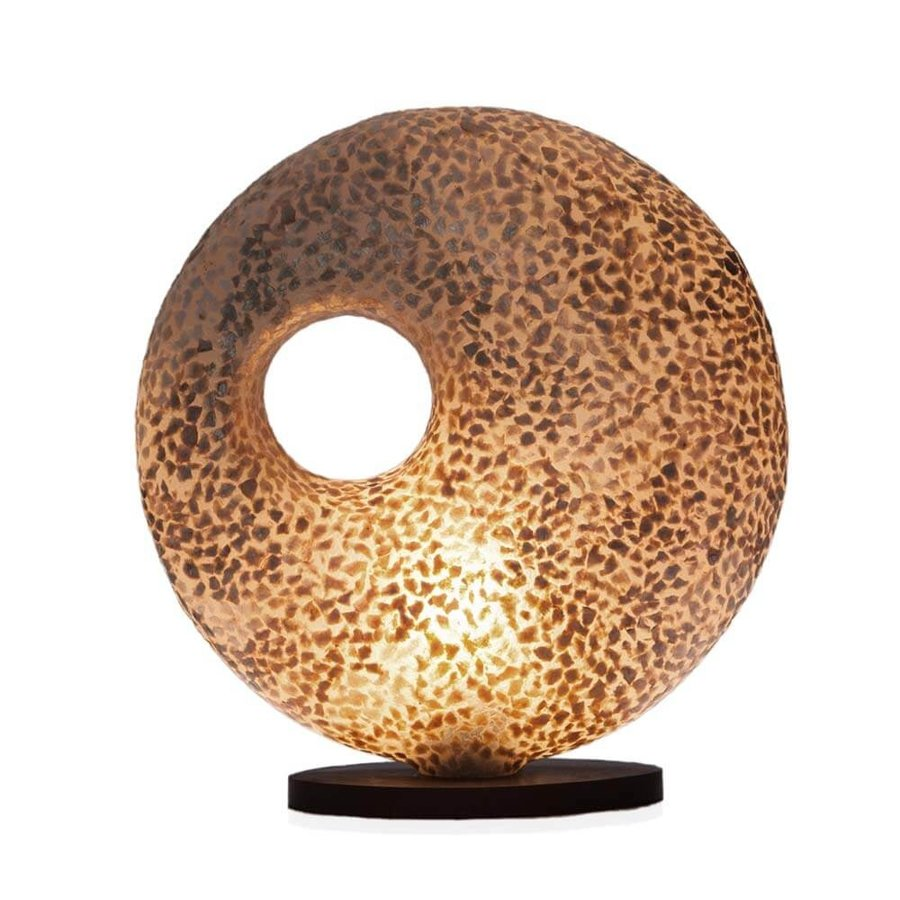 Tafellamp Wangi Gold Donut