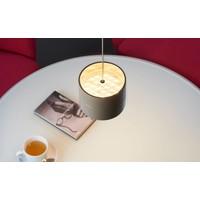 In hoogte verstelbare en dimbare 1-lichts Hanglamp Tudor M met geïntegreerde LED