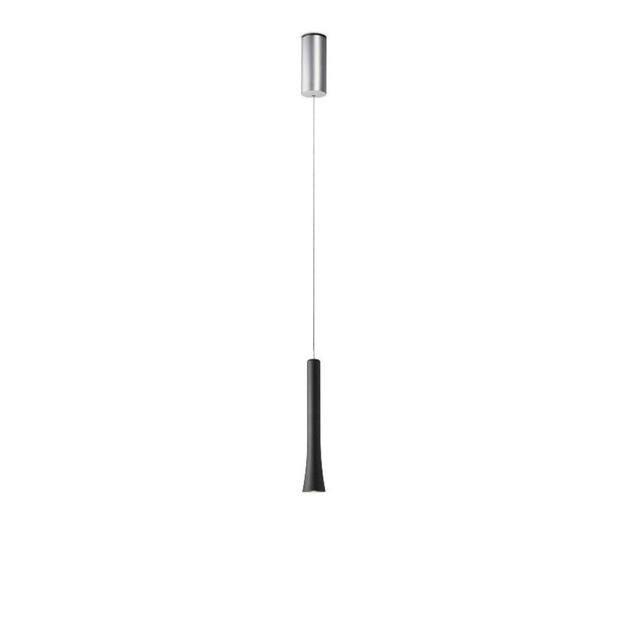 Dimbare 1-lichts hanglamp Rio met geïntegreerde LED