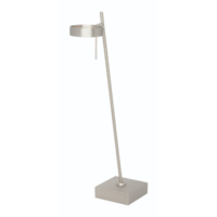 Dimbare tafellamp Bling Staal met geïntegreerde LED