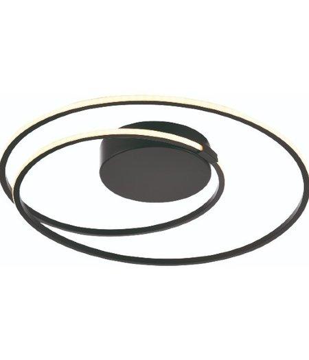 Ophelia Zwart LED Ø 50 cm