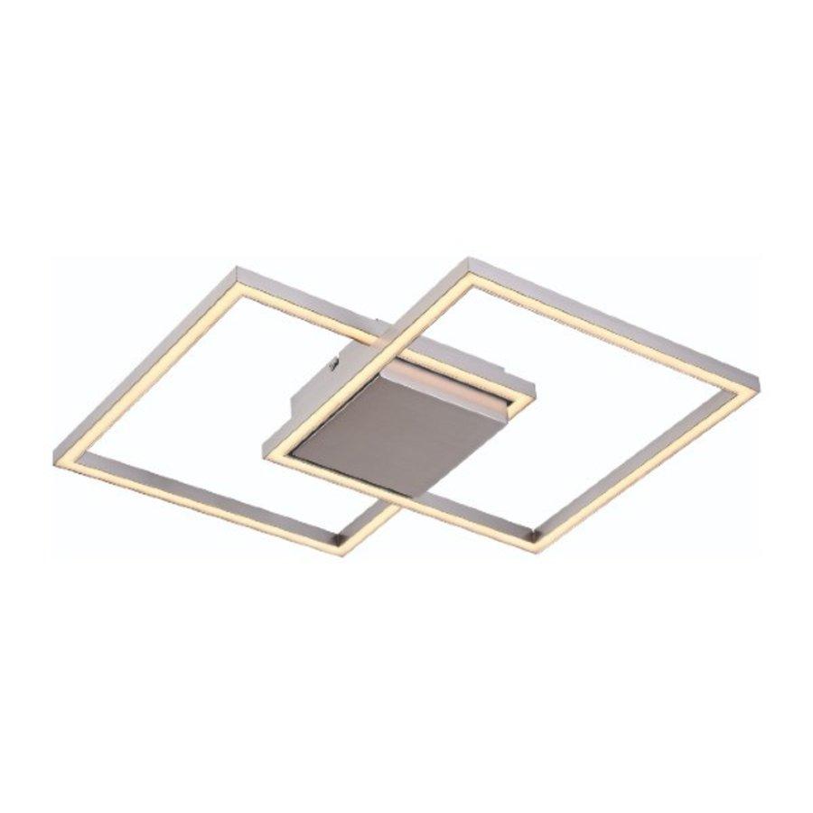 3-staps dimbare plafondlamp Falcon met geïntegreerde LED - staal