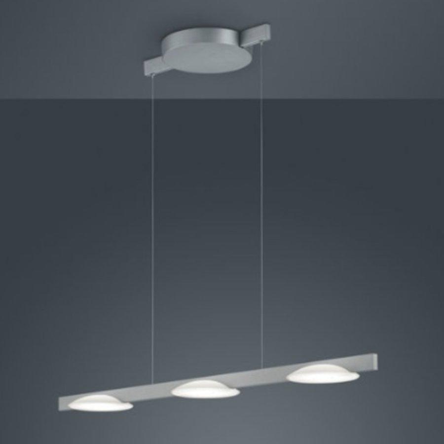Dimbare 3-lichts Hanglamp Pole met geïntegreerde LED