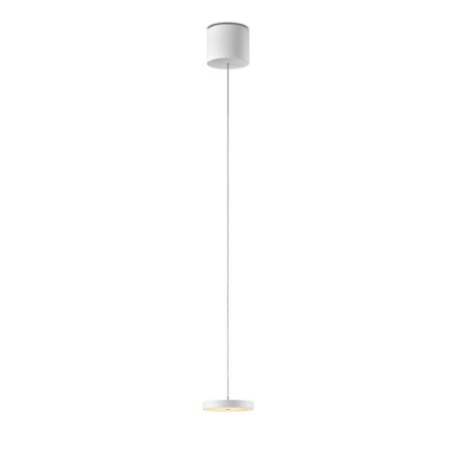 In hoogte verstelbare en dimbare 1-lichts Hanglamp Decent met geïntegreerde LED