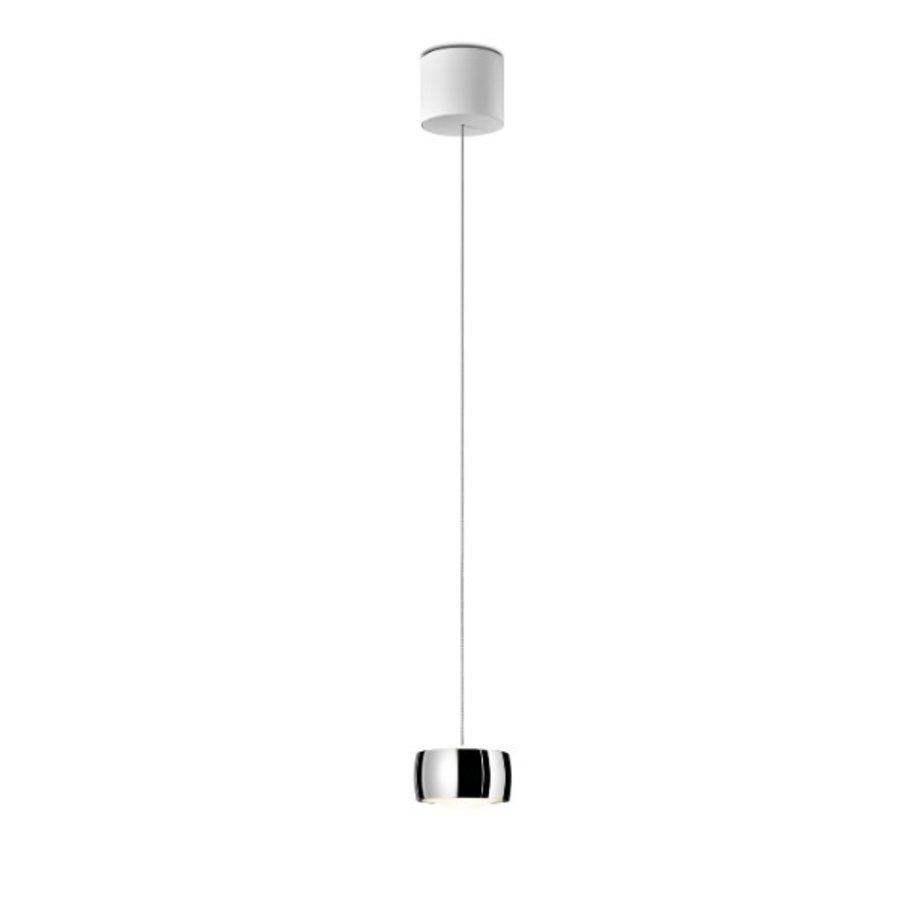 In hoogte verstelbare en dimbare 1-lichts hanglamp Grace met geïntegreerde LED