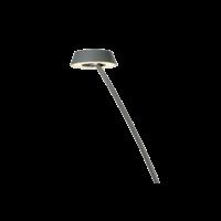 Dimbare Vloerlamp Glance Curved met geïntegreerde LED