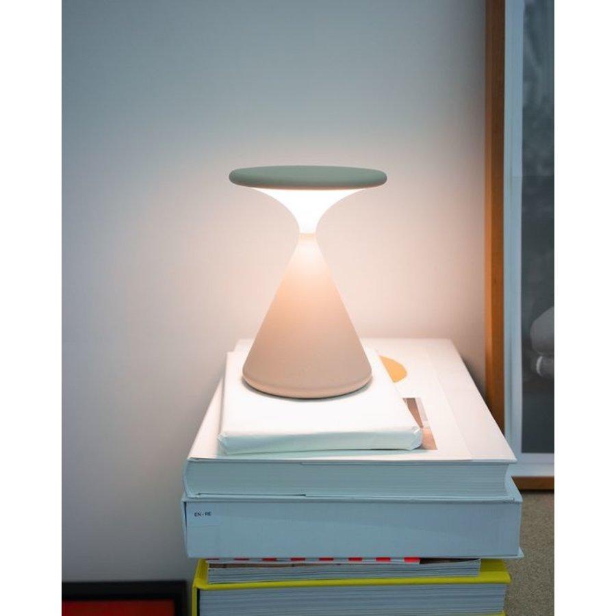 Dimbare (Dim to Warm) + Oplaadbare Tafellamp Salt & Pepper met geïntegreerde LED