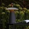 Lucide Oplaadbare en Dimbare Tafellamp voor buiten La Donna met geïntegreerde LED