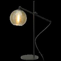 1-lichts tafellamp Quinto Smoke met glas nr. 6