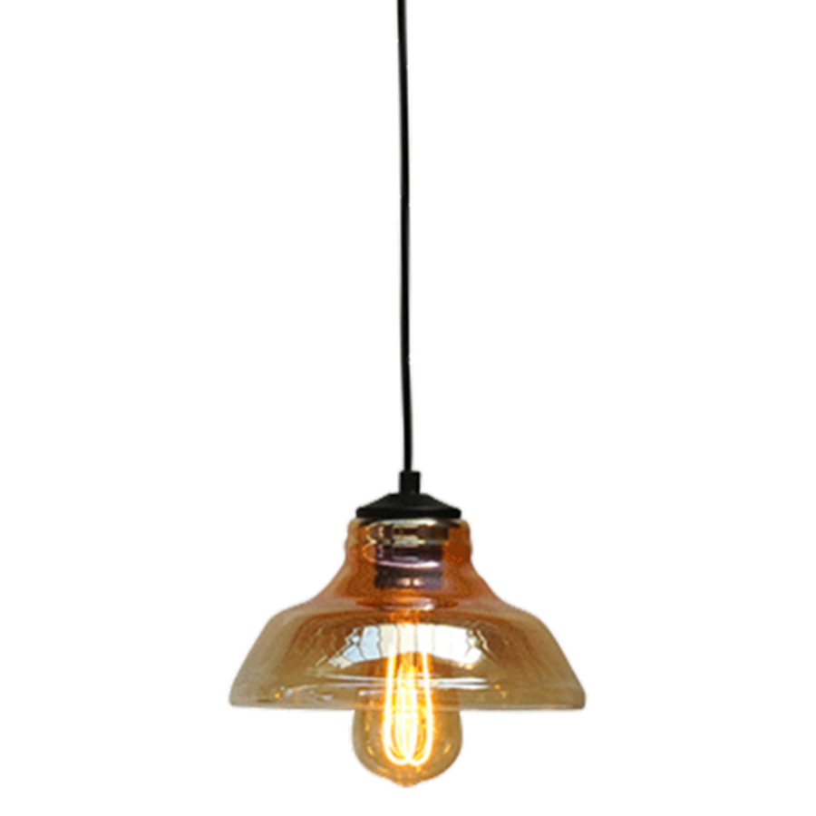 1-lichts Hanglamp Quinto met Smoke Glass nr. 9