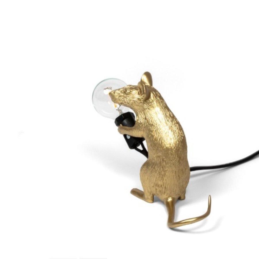 Tafellamp Mouse Lamp Mac Gold
