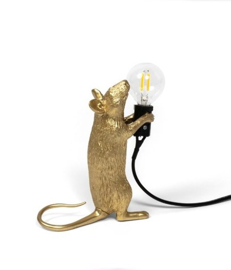 Mouse Lamp Step Gold