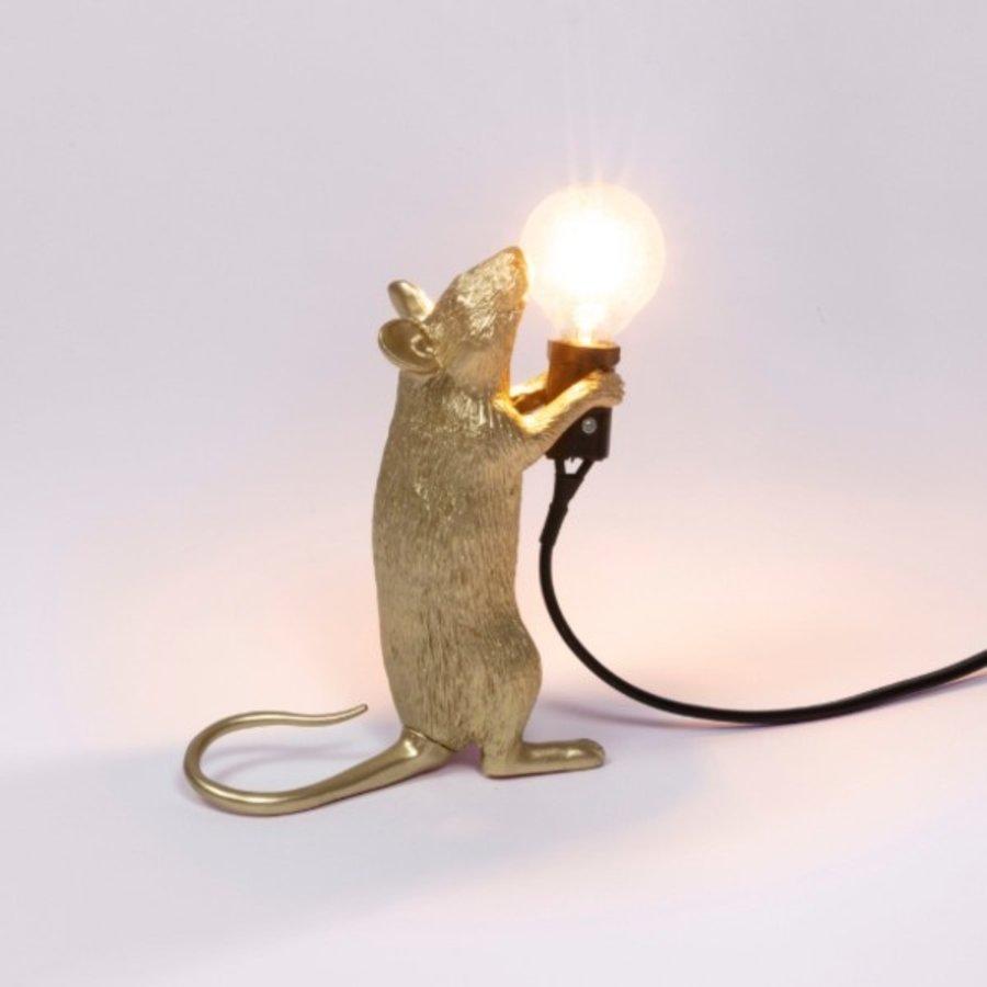 Tafellamp Mouse Lamp Step Gold