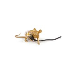 Tafellamp Mouse Lamp Lop Gold