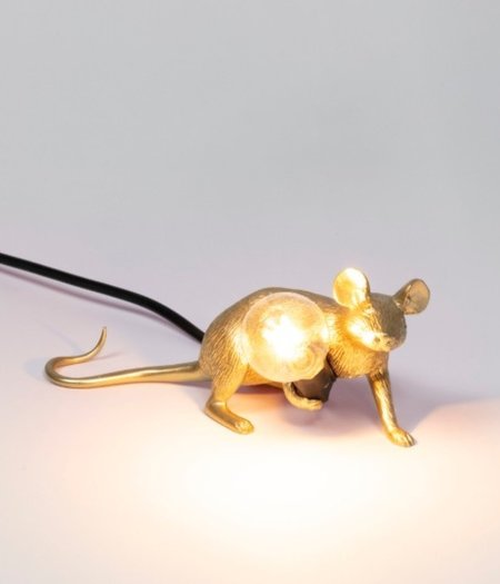 Mouse Lamp Lop Gold