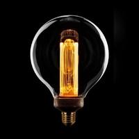 3-staps dimbare LED lichtbron Kooldraad Globe 12,5 cm - maximaal 5 Watt