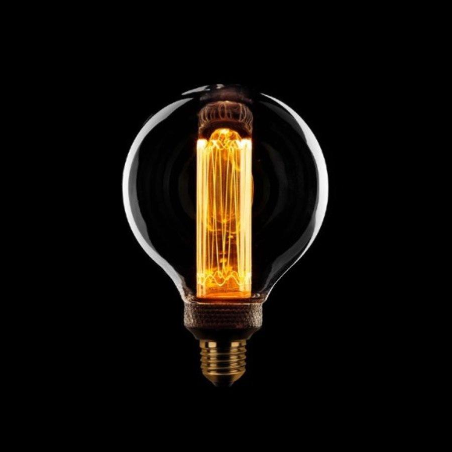 3-staps dimbare LED lichtbron Kooldraad Globe 9,5 cm - maximaal 5 Watt