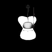 Hanglamp Spokes 3 met geïntegreerde LED