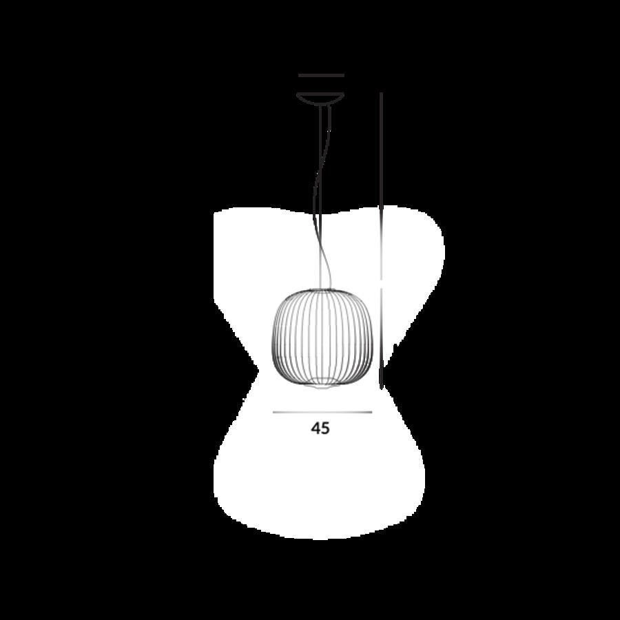 Hanglamp Spokes 2 Midi met geïntegreerde LED