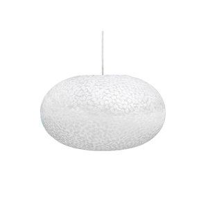 VillaFlor Hanglamp Wangi White Ufo Small