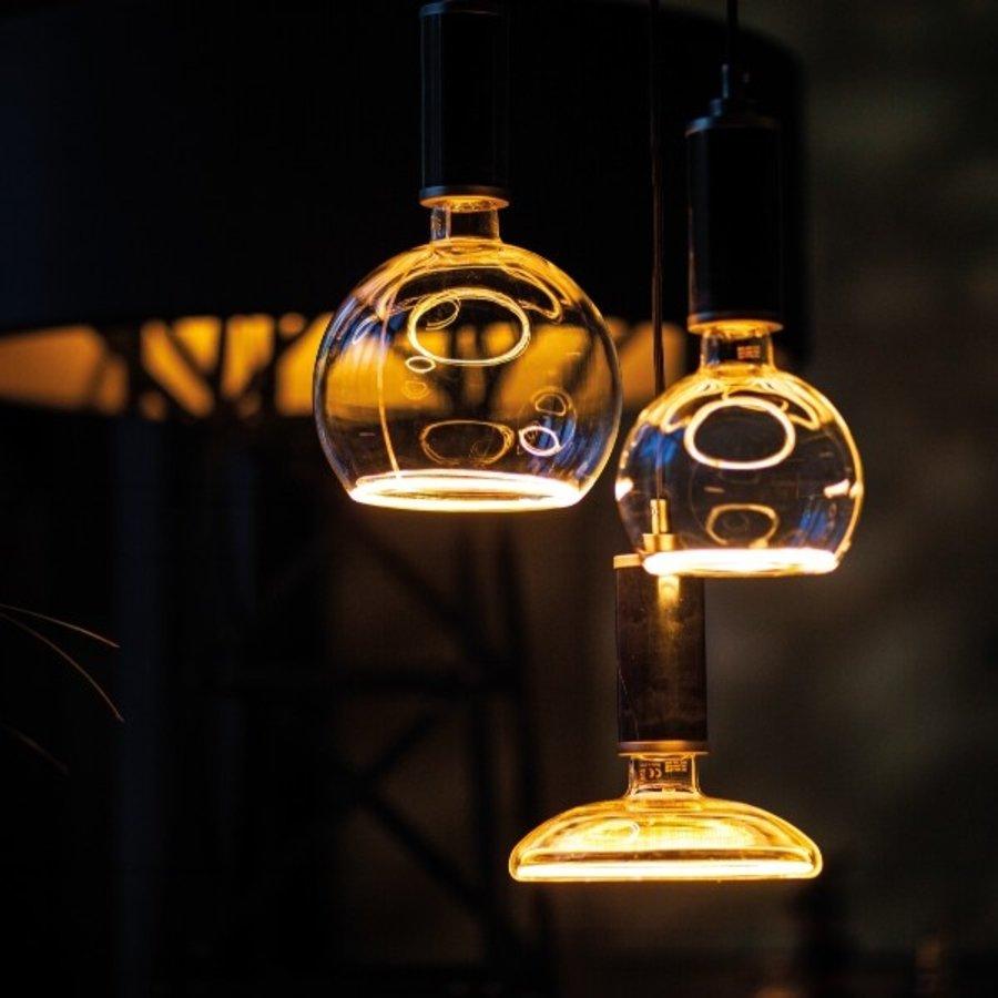 Dimbare LED lichtbron Smokey Grey G125 E27 - maximaal 8 Watt (26 Watt)