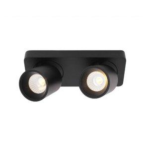 Artdelight Kantelbare, draaibare en dimbare 2-lichts plafondlamp Laguna met geïntegreerde LED