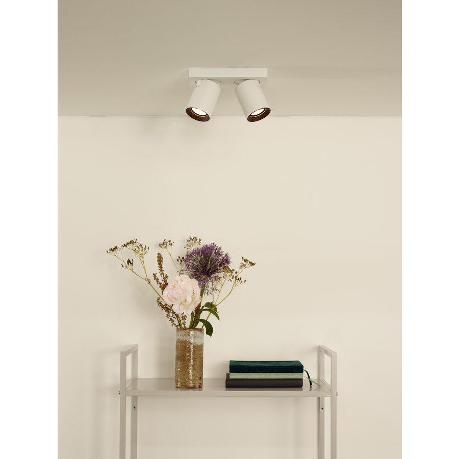 Dimbare (Dim to Warm) 2-lichts opbouwspot Nigel