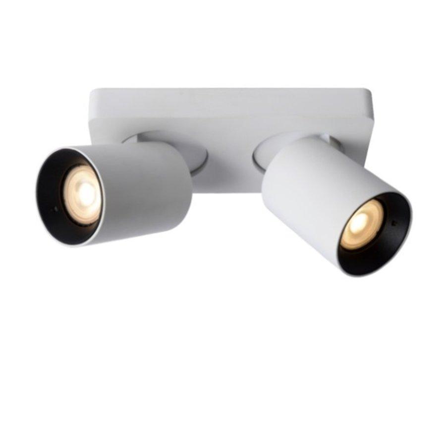 Dimbare (Dim to Warm) 2-lichts Plafondspot Nigel