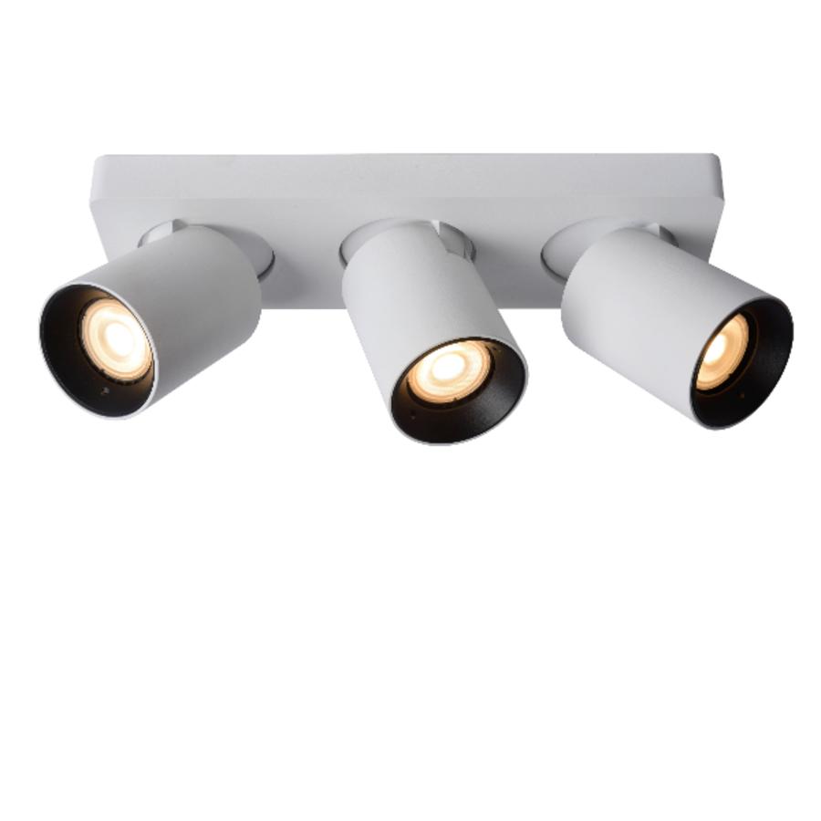 Dimbare (Dim to Warm) 3-lichts opbouwspot Nigel