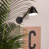 Zuiver 3-staps dimbare wandlamp Lub met geïntegreerde LED