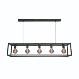 Freelight 5-lichts hanglamp Esteso