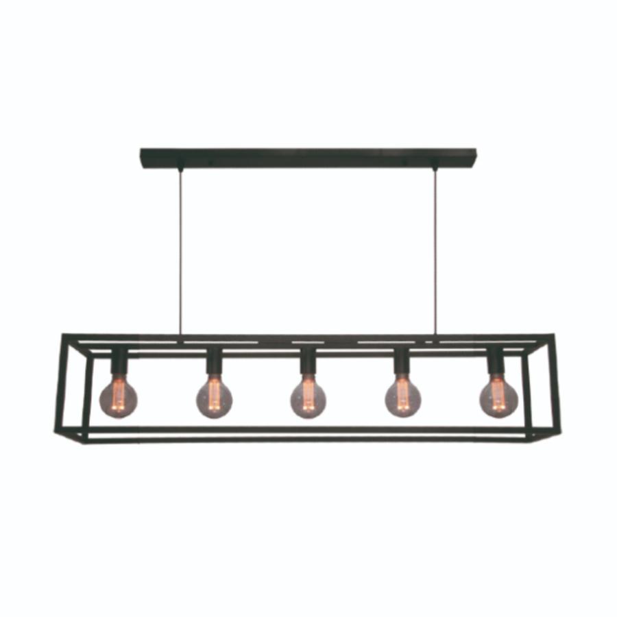 5-lichts Hanglamp Esteso