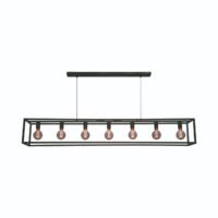 7-lichts Hanglamp Esteso