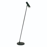 Dimbare vloerlamp Arletta met geïntegreerde LED - zwart