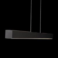 In hoogte verstelbare + dimbare (Dim to Warm) hanglamp Xena S met geïntegreerde LED - Lengte 120 cm