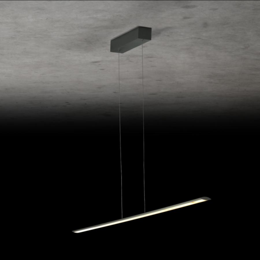 Dimbare (Dim to Warm) + in hoogte verstelbare hanglamp Epsilon RR met geïntegreerde LED - L 163 cm